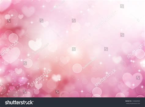 pink valentines day hearts abstract pink background stvalentines