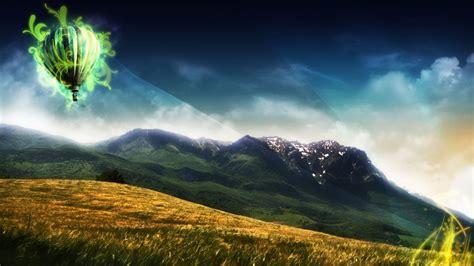 imagenes de paisajes de 1920x1080 paisaje con efectos 3d 1920x1080 fondos de pantalla y