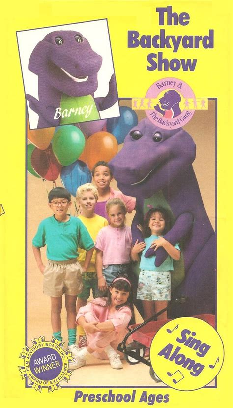 Barney And Backyard by Barney The Backyard The Backyard Show Vhs Books