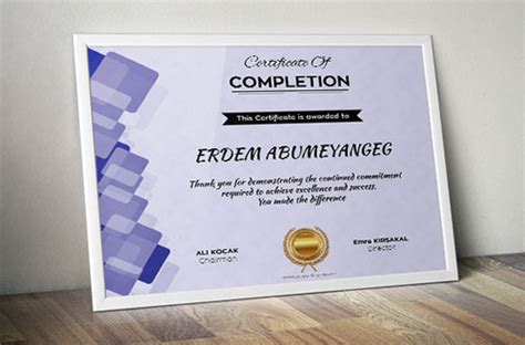 10 Sets Of Free Certificate Design Templates Designfreebies Indesign Certificate Template