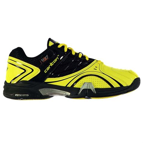 carlton mens xelerate badminton sports shoes trainers lace