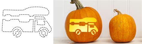 rv  camping templates  halloween pumpkin carving