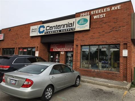 Plumbing Supply Montreal by Centennial Plumbing Supply York On 2901 Steeles Ave W Canpages