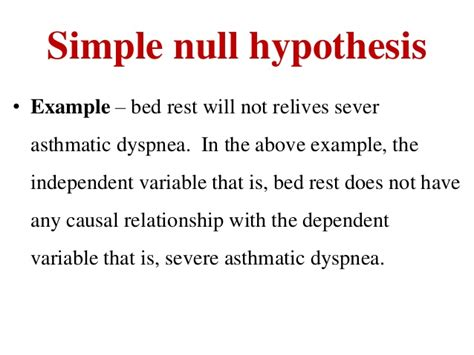 hypothesis template research hypothesis ppt