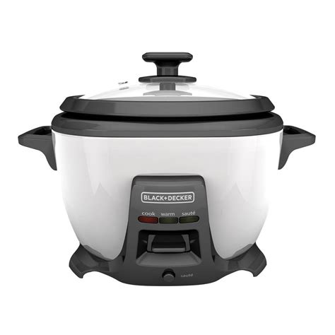 Rice Cooker Black Decker black decker 14 cup rice cooker with saute rcs614 the