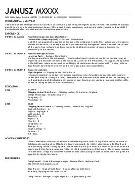 Curriculum Vitae Sle For Architects 16 Architecture Cv Exles Templates Livecareer