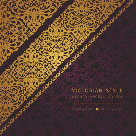 victorian themes for powerpoint victorian ornate floral pattern background vector free