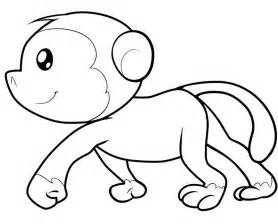 35 monkey coloring pages naughty cute animal coloring pages