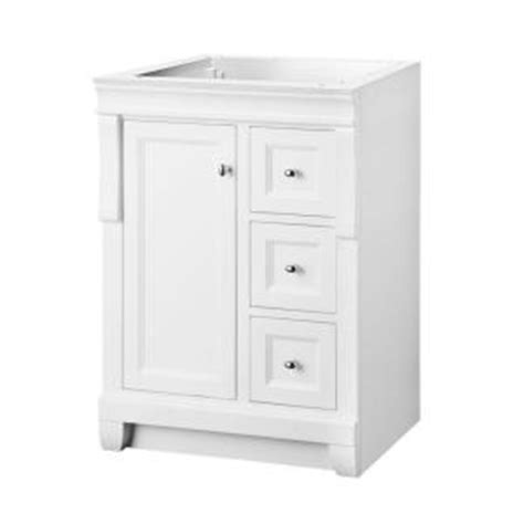 Home Depot 24 Inch Bathroom Vanity by Foremost Naples 24 In W Bath Vanity Cabinet Only In White