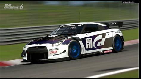 nissan gtr touring car gt6 nissan gt r r35 touring car