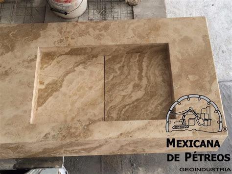 lavabo minimalista de marmol travertino serpentino  bano  en mercado libre