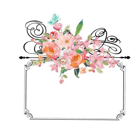 Bingkai Foto Frame Shabby free illustration frame with flowers frame vintage
