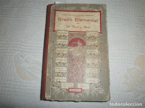 libro grado elemental grado elemental por m porcel y riera libro de comprar libros antiguos de texto y escuela en
