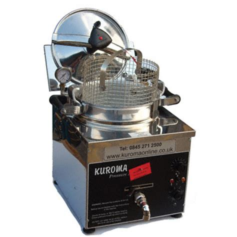 Small Pressure Fryer For Home Use Kuroma Pressure Fryer Demonstration Commercial