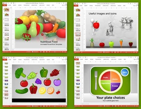 nutrition powerpoint template animated nutrition presentation templates for powerpoint