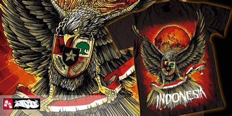 T Shirt Indonesia Is Awesome garuda pancasila t shirt design by ardhajaco mintees