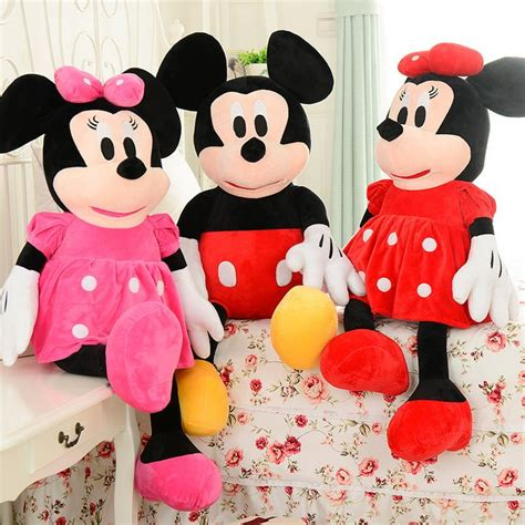 Ailubee Piyama Minnie Mouse Kidsz sale 1pcs 50cm mickey mouse and minnie mouse stuffed animals plush toys for children s