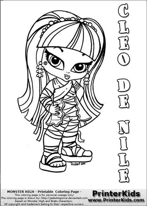 monster high chibi coloring pages chibi monster high coloring pages www pixshark com