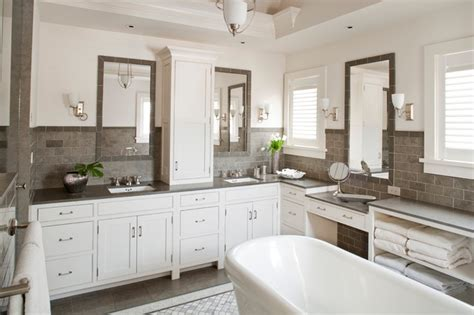 White And Gray Bathrooms by Grey And White Bathroom Bathroom