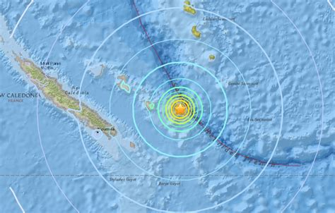 earthquake new caledonia strong and shallow m6 1 m6 6 m6 0 earthquakes hit new