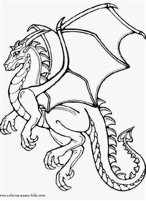 medieval dragon coloring pages colorings net