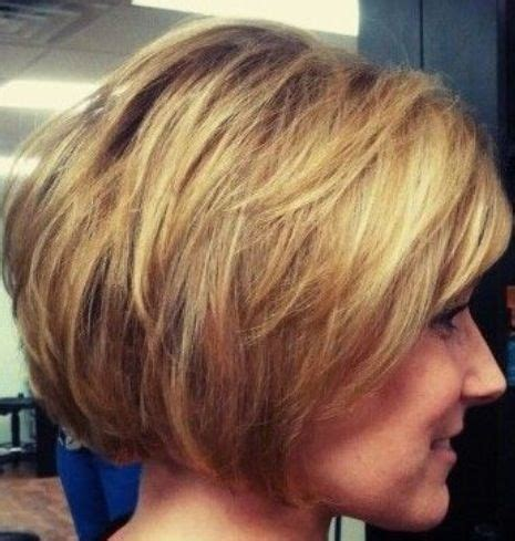 side view short modified stacked hairstyle 391 best images about haircuts on pinterest short hair