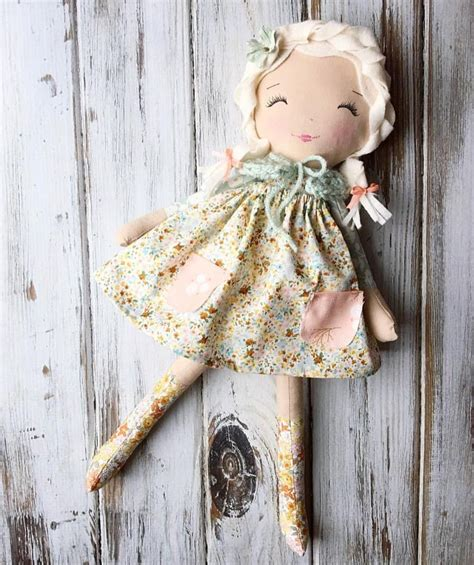 Handmade Rag Doll Patterns - best 25 handmade dolls patterns ideas on