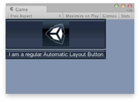 unity layout button unity scripting api guilayout button
