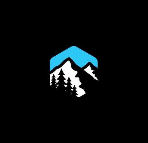 design a cool logo 25 mountain logo designs ideas exles design trends