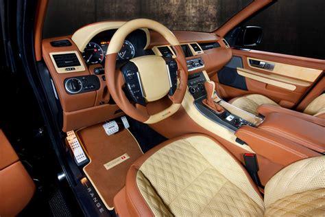 Handmade Interiors - 2010 mansory range rover sport cars wallpapers