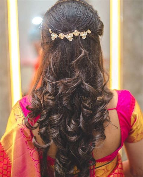 Wedding Hairstyles In India by Indian Hair Styles For Brides Www Pixshark Images