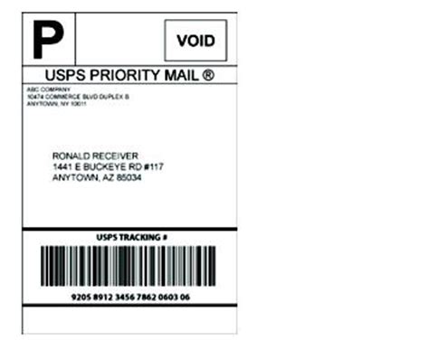 printable priority mail label dmm 503 extra services