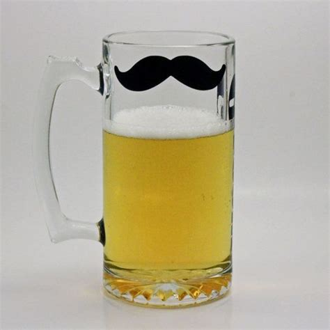 design beer mug personalized mustache beer mug you design by seasidesandys