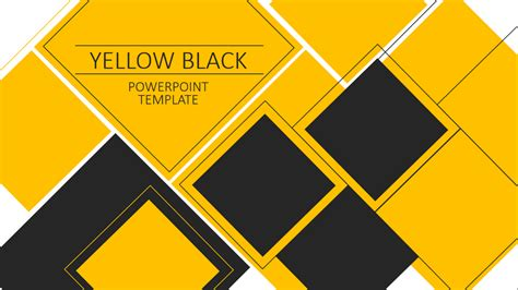 theme powerpoint yellow yellow black powerpoint template by pronus graphicriver