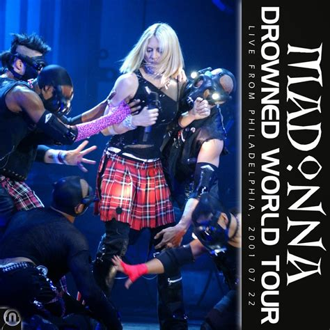 Cd Madonna World Tour drowned world tour fanmade cover madonna fanmade artworks