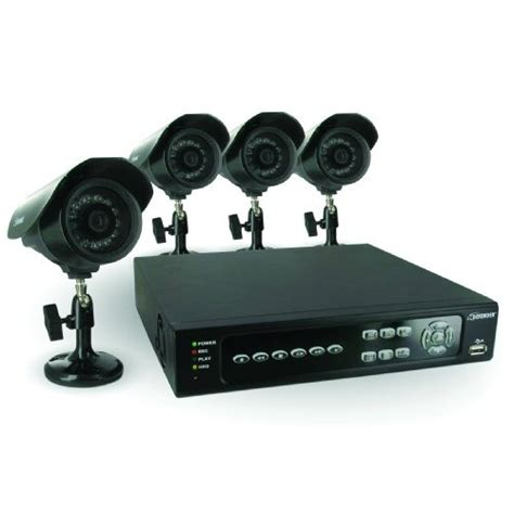 security system with 4 channels