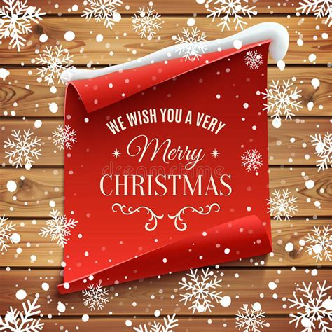 merry christmas background stock vector illustration  ribbon