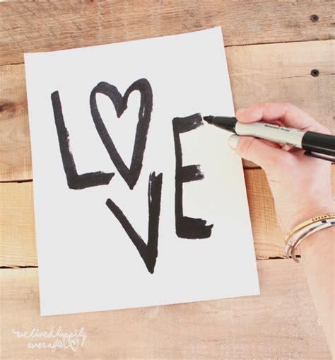 free love printables we lived happily ever afterwe lived free love print we lived happily ever after bloglovin