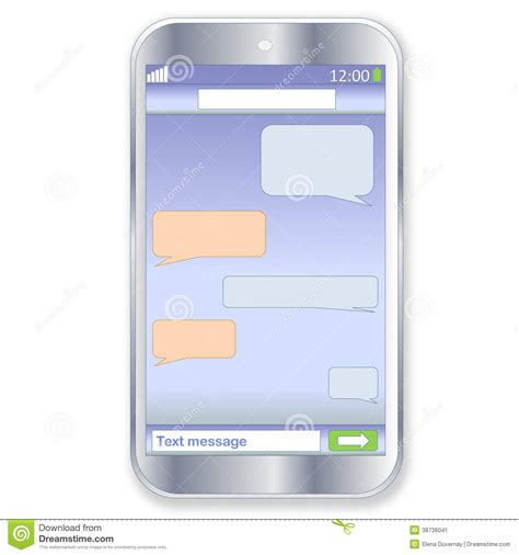 wallpaper chat sms smartphone chat stock image image 38736041