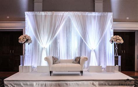 Indian Wedding Home Decoration An Elegant Affair A Marriage Of Elegant Decor And