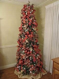slim trees on pinterest slim christmas tree potted