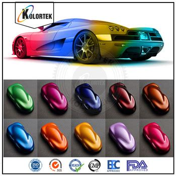 multi color powdered paint pigments car paint colors pearl pigment for auto paint china