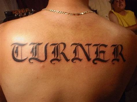 tattoo back words 25 amazing words tattoos on back