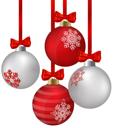 ornaments images clip white and hanging ornaments png clipart