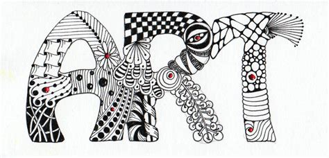zentangle lettering google search zentangles doodles alphabee tangles february 2011