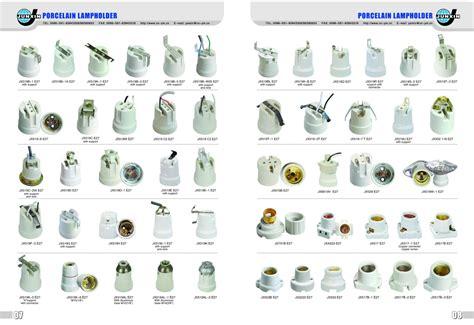 light socket base types electronic spot light holder porcelain l socket