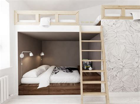 Best Modern Bunk Beds Bunkbed Interior Design Ideas