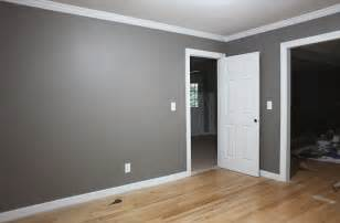 grey walls white trim i think i like that leave the ceiling white or very light grey