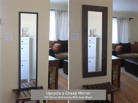 cheap bathroom mirror ideas 25 best ideas about cheap mirrors on pinterest cheap
