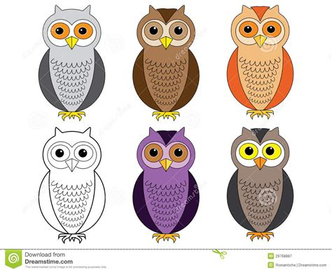 what color are owls owls royalty free stock photography image 29768887
